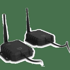 Draadloze zenders voor verbinden achteruitrijcamera's