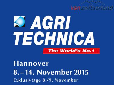 Van Zwitserland exposeert op de Agritechnica beurs Hannover