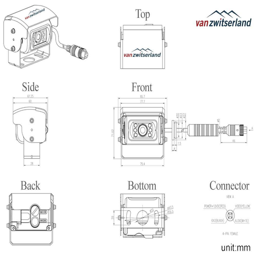 C10_Auto-shutter-camera-technische-tekening