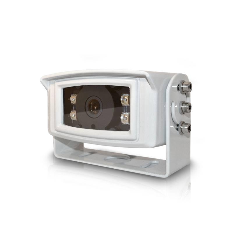 Witte C4 achteruitrijcamera IP69k getest, verwarmd en met ruim nachtzicht