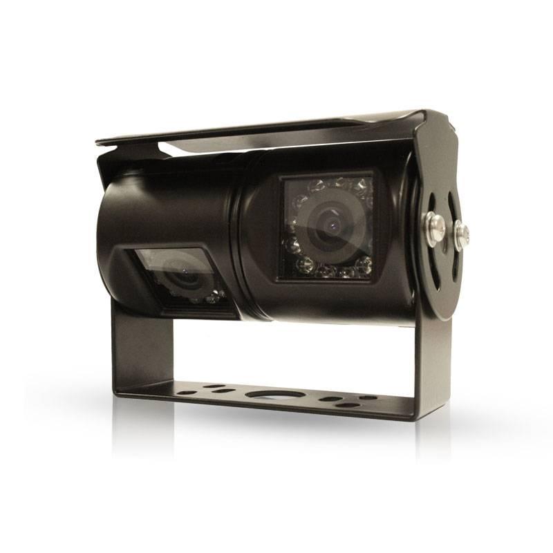 C8 Dubbele lens camera voor zicht achter het voertuig en ter vervanging van de spiegel
