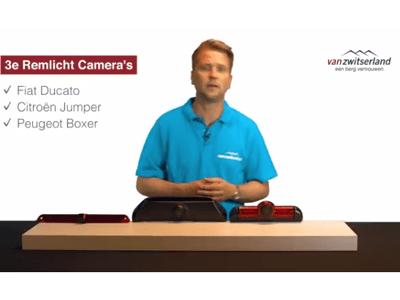 Derde remlicht camera's bestelbus