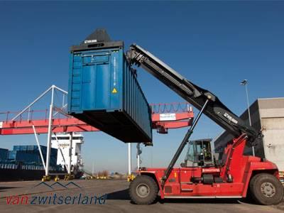 Liftingvoertuigen heftrucks voorzien van camera's