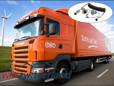 Trailer spiraalkabel vrachtwagens, caravans of paardentrailer