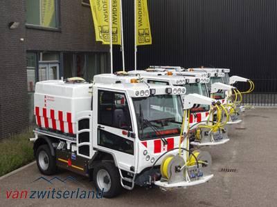Achteruitrijcamera reiniginsvoertuigen Amsterdam