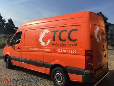 Bestelbuscamera's TCC Koeriers